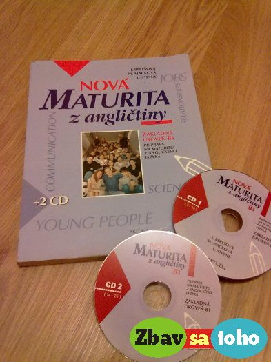 Nová maturita z angličtiny + 2 cd a6d3ebd273f